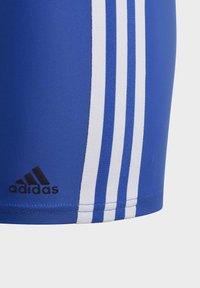 adidas Performance - STRIPES SWIM BOXERS - Uimahousut - blue - 4