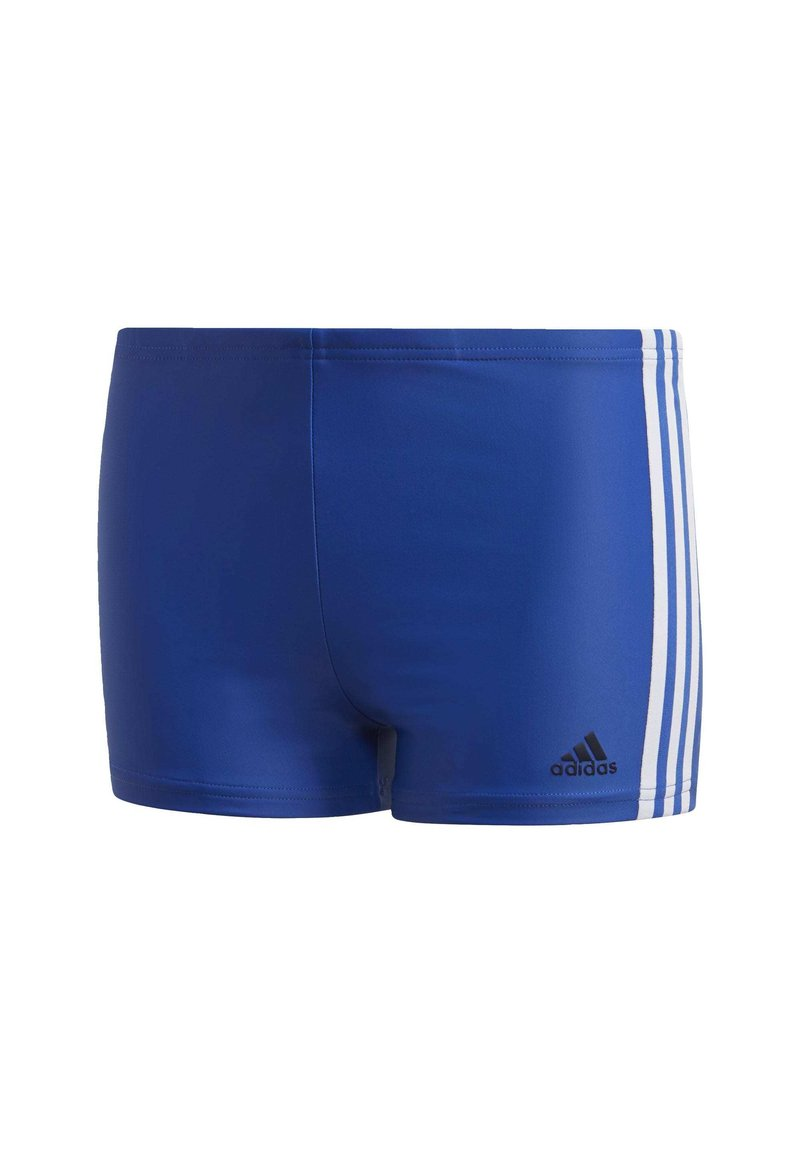 adidas Performance - STRIPES SWIM BOXERS - Uimahousut - blue