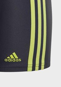 adidas Performance - 3-STRIPES SWIM BOXERS - Uimahousut - blue - 4
