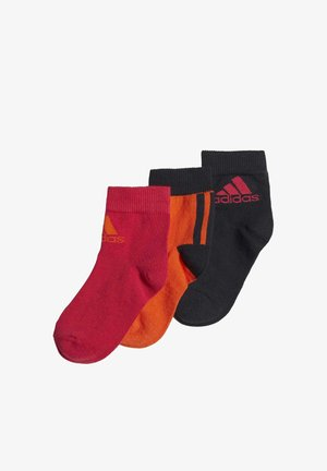 ANKLE SOCKS 3 PAIRS - Chaussettes - orange