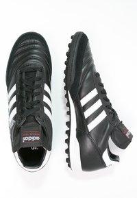 adidas Performance - MUNDIAL TEAM - Astro turf trainers - black/running red/white - 1