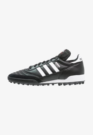 MUNDIAL TEAM - Astro turf trainers - black/running red/white