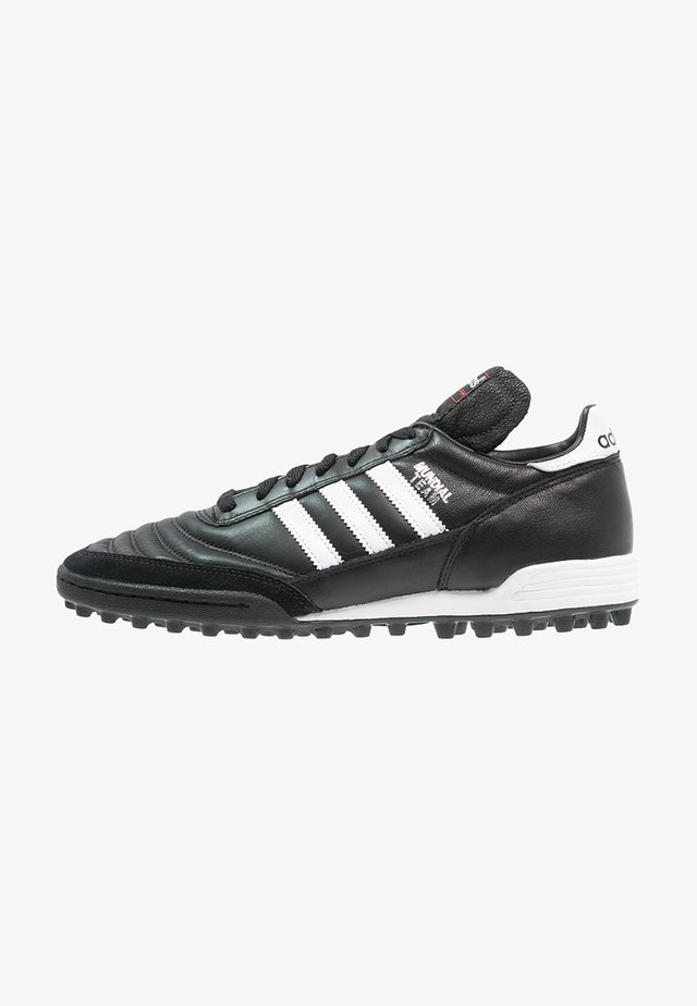 MUNDIAL TEAM - Botas de fútbol multitacos - black/running red/white