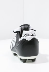 adidas Performance - KAISER 5 LEATHER FOOTBALL BOOTS FIRM GROUND - Moulded stud football boots - black/running white/rot - 3
