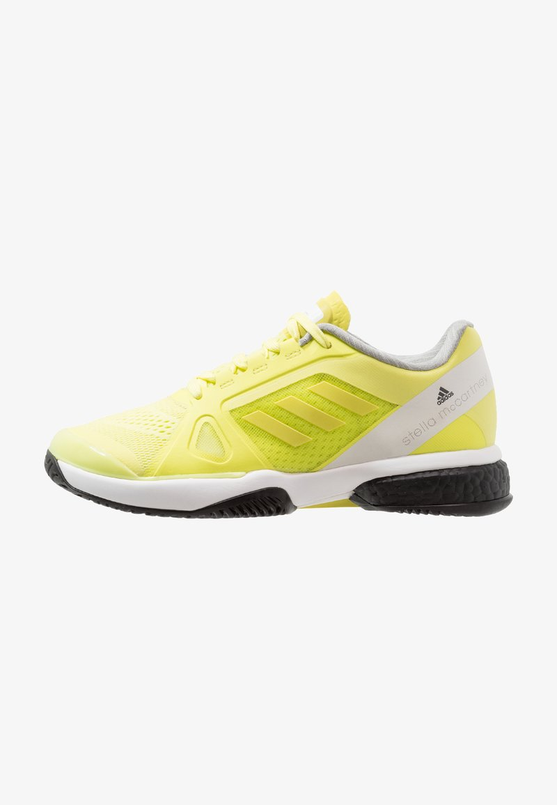 adidas by Stella McCartney - BARRICADE BOOST - Chaussures de tennis toutes surfaces - aero lime/footwear white/core black