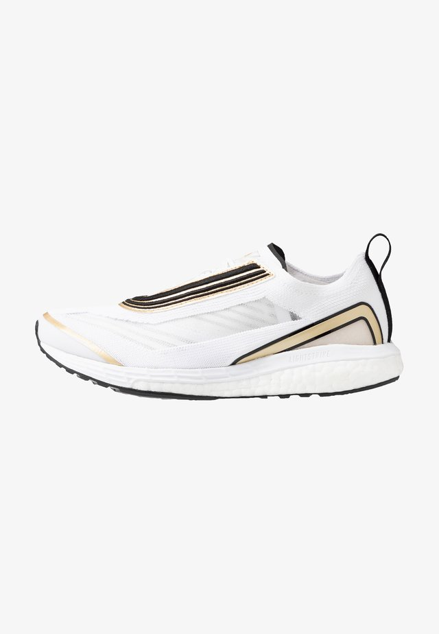 BOSTON S. - Neutral running shoes - footwear white/golden butter