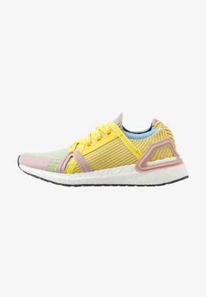 ULTRABOOST 20 - Zapatillas de running neutras - dust rosa/fresh lemon/cloud blue