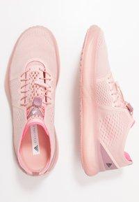 adidas by Stella McCartney - PUREBOOST TRAINER S. - Trainings-/Fitnessschuh - pink spice/ultra pop/footwear white - 1