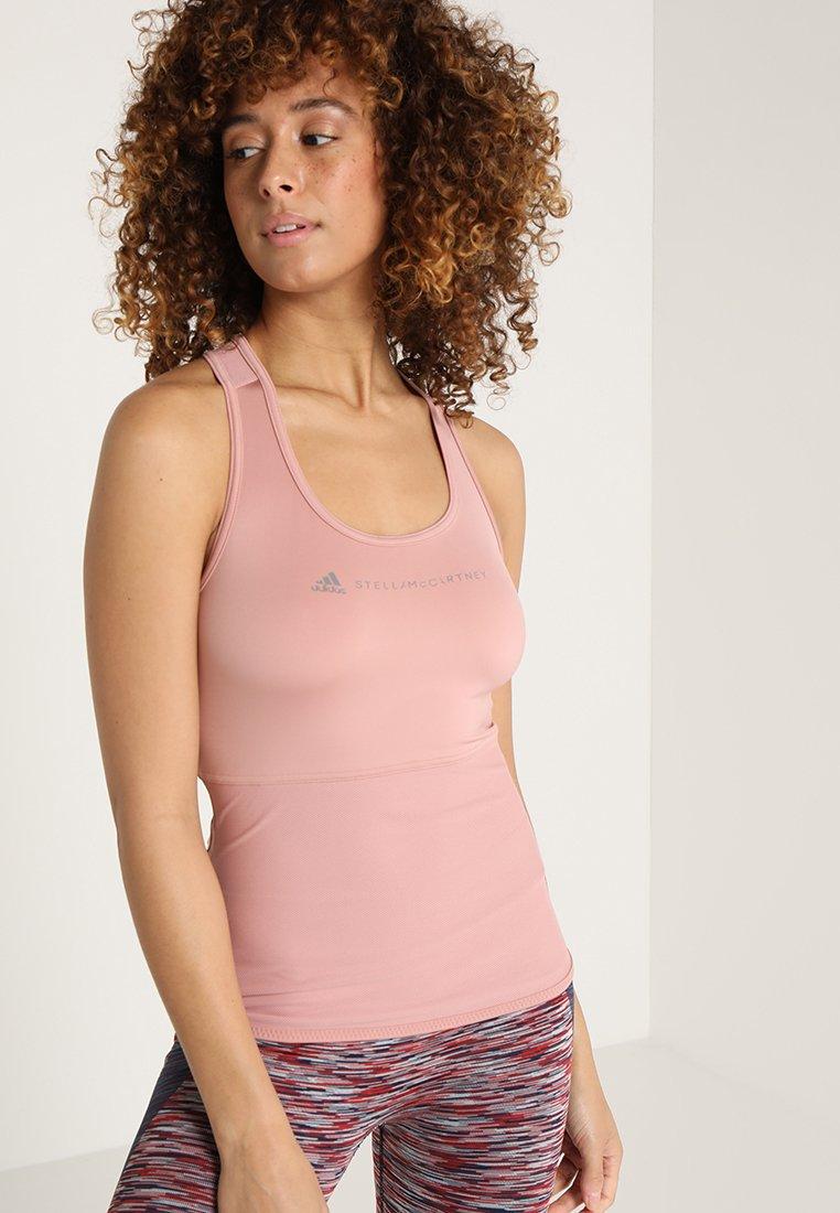 adidas by Stella McCartney - ESS TANK - T-shirt de sport - rose