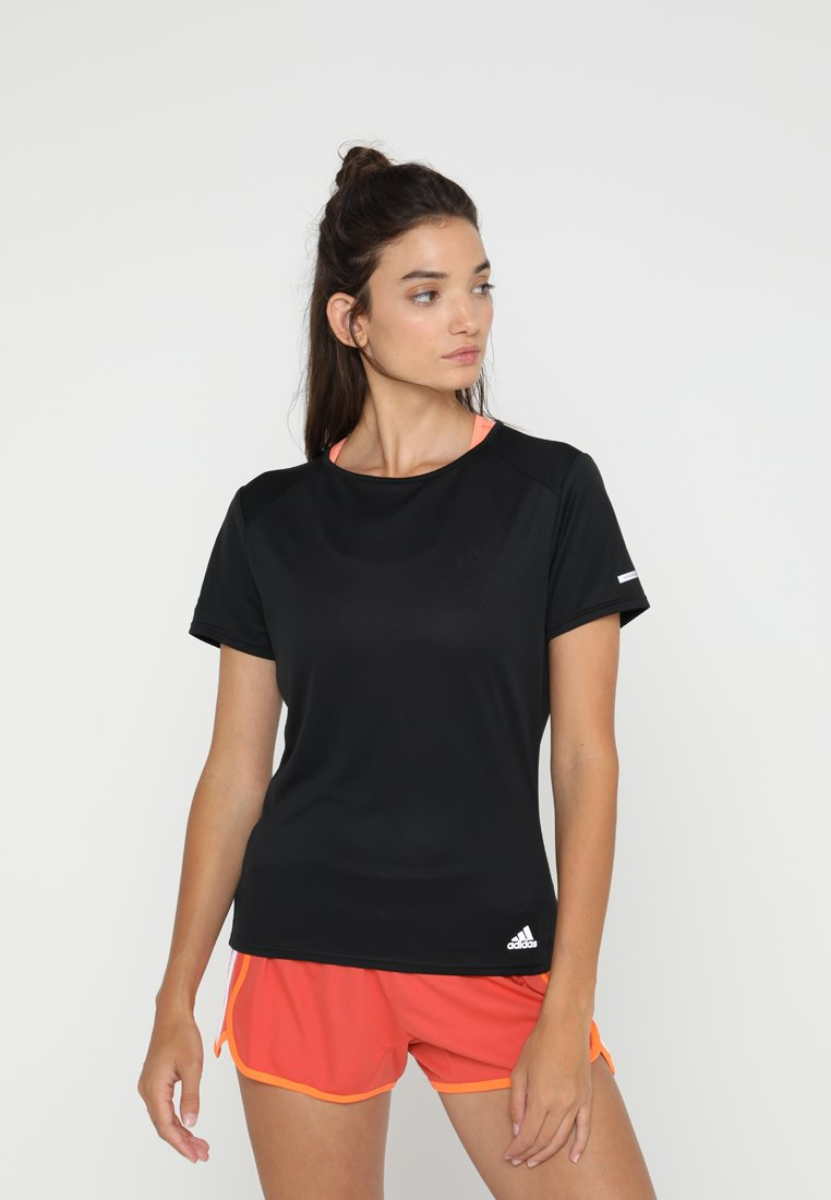 adidas Performance - RUN TEE  - T-shirt print - black