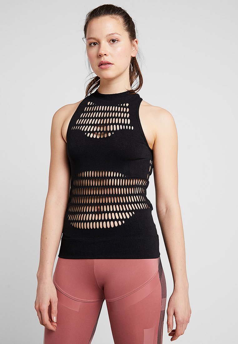 adidas by Stella McCartney - WARPKNIT TANK - Toppe - black