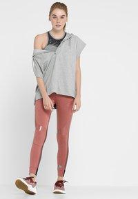 adidas by Stella McCartney - CROP - Topper - grey/black - 1