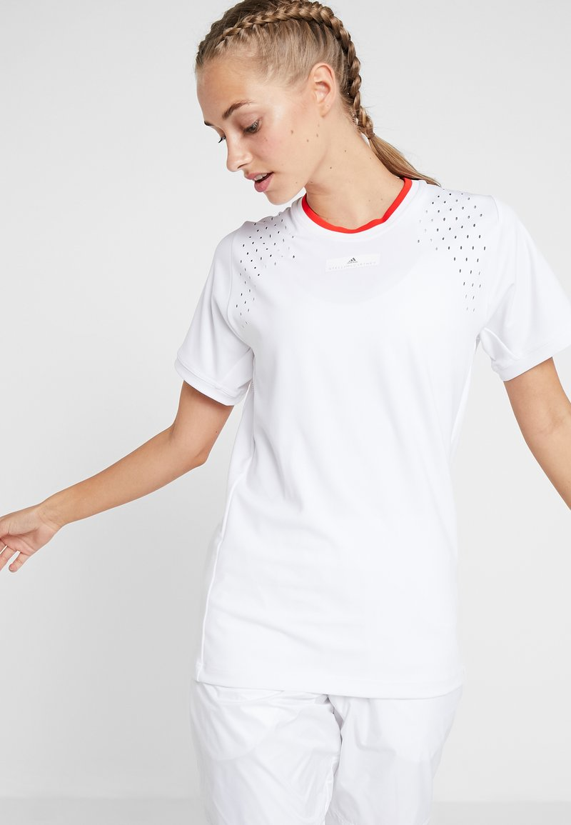 adidas by Stella McCartney - TEE - T-shirt - bas - white