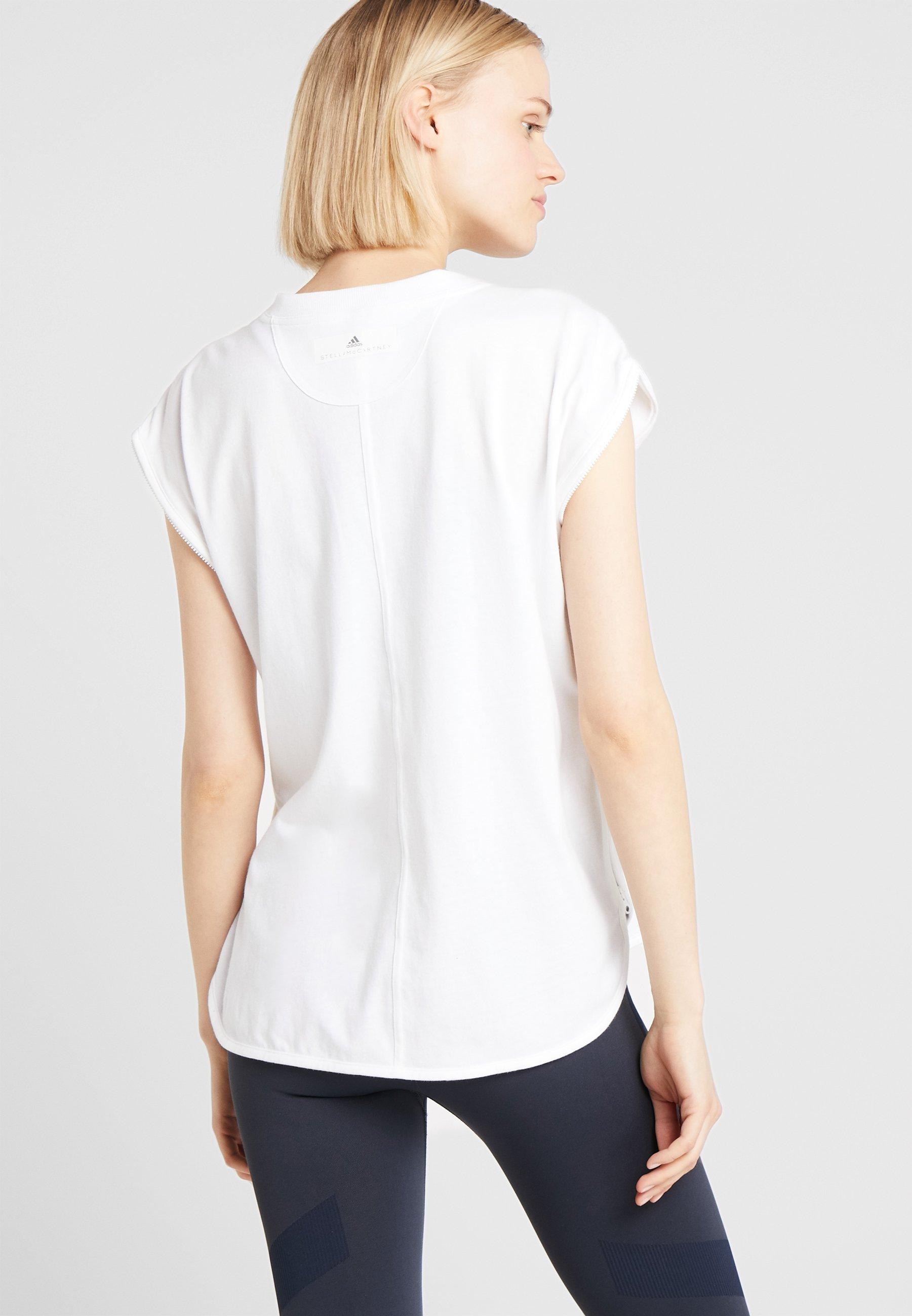 Imprimé White Adidas shirt GraphicT Stella Mccartney By L34q5jAR