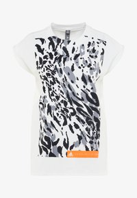 adidas by Stella McCartney - CLIMALITE WORKOUT GRAPHIC TANK - Top - white - 5