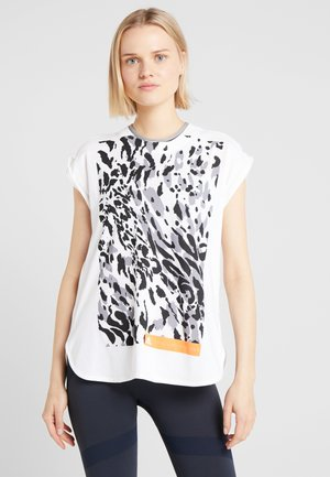 CLIMALITE WORKOUT GRAPHIC TANK - Linne - white