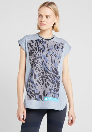 CLIMALITE WORKOUT GRAPHIC TANK - Linne - stone