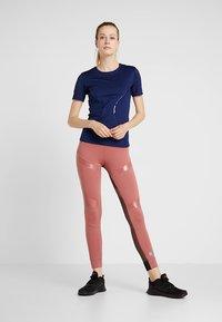 adidas by Stella McCartney - ESSENTIALS SPORT CLIMALITE WORKOUT T-SHIRT - Funktionströja - dark blue - 1