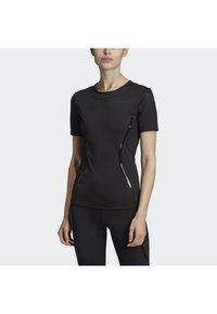 adidas by Stella McCartney - ESSENTIALS SPORT CLIMALITE WORKOUT T-SHIRT - Sports shirt - black - 1