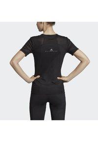 adidas by Stella McCartney - ESSENTIALS SPORT CLIMALITE WORKOUT T-SHIRT - Sports shirt - black - 2