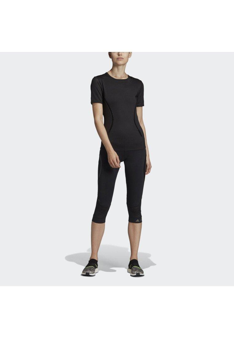 adidas by Stella McCartney - ESSENTIALS SPORT CLIMALITE WORKOUT T-SHIRT - Sports shirt - black