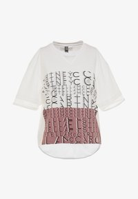 adidas by Stella McCartney - SPORT CLIMALITE WORKOUT GRAPHIC T-SHIRT - Sportshirt - white - 3
