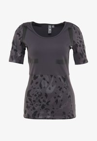 adidas by Stella McCartney - RUN TEE - T-shirt imprimé - black - 5