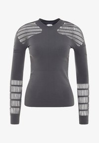 adidas by Stella McCartney - SPORT WORKOUT LONGSLEEVE SHIRT - Maglietta a manica lunga - grey - 6