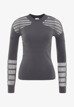 SPORT WORKOUT LONGSLEEVE SHIRT - Long sleeved top - grey