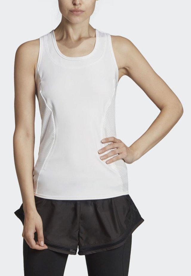 ESSENTIALS TANK TOP - Sports shirt - white