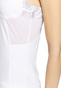 adidas by Stella McCartney - RUN TANK - Sportshirt - white/grey - 5