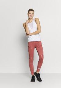 adidas by Stella McCartney - RUN TANK - Sportshirt - white/grey - 1
