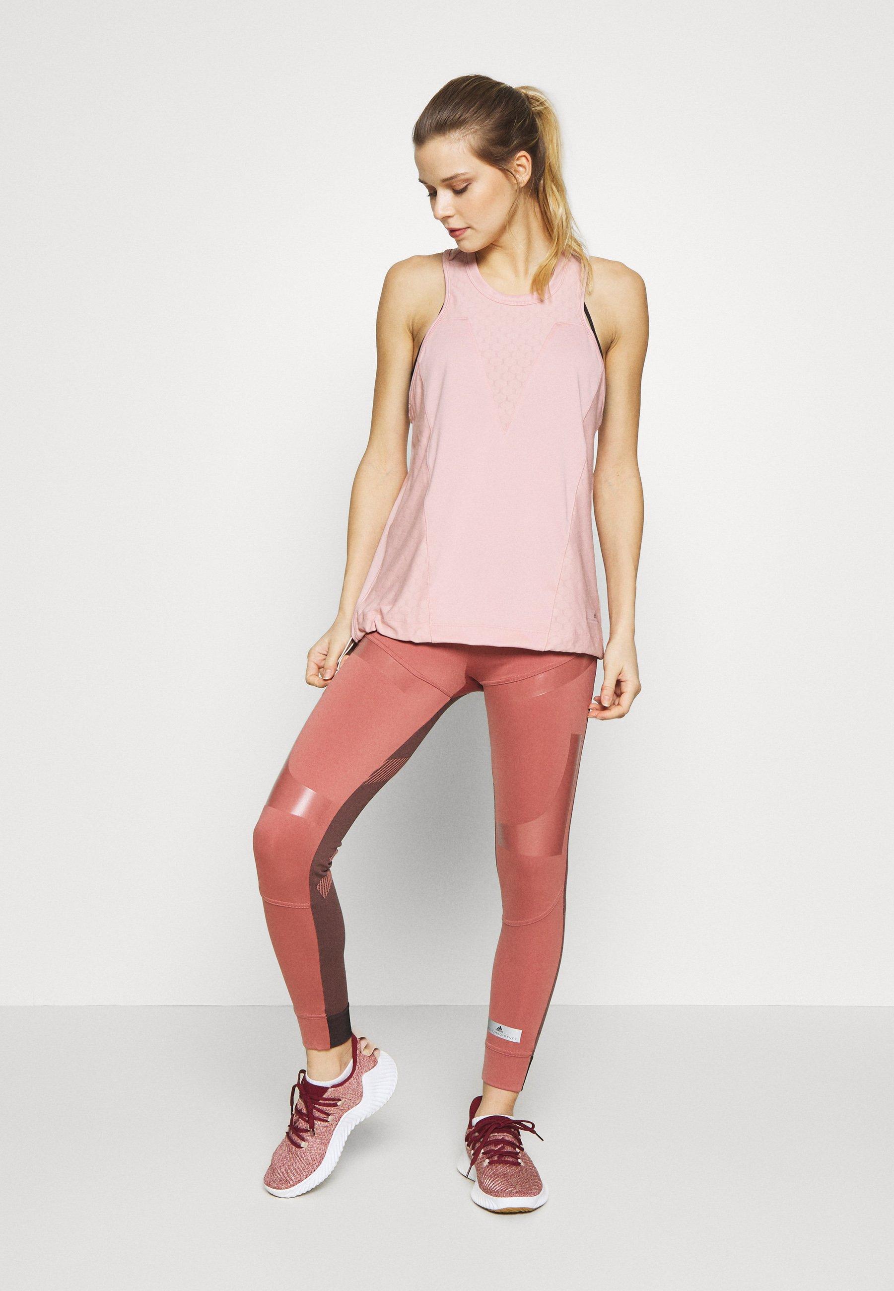 adidas by Stella McCartney TANK - Koszulka sportowa - pink