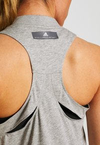 adidas by Stella McCartney - GRAPHIC TANK - Toppi - grey/white