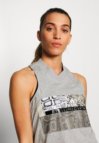 adidas by Stella McCartney - GRAPHIC TANK - Top - grey/white - 3