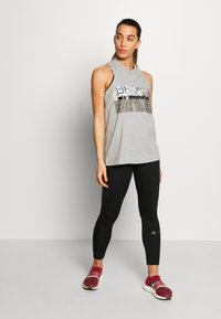 adidas by Stella McCartney - GRAPHIC TANK - Toppi - grey/white - 1