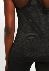 adidas by Stella McCartney - TANK - Topper - black - 5
