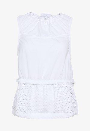 TANK - Sports shirt - white