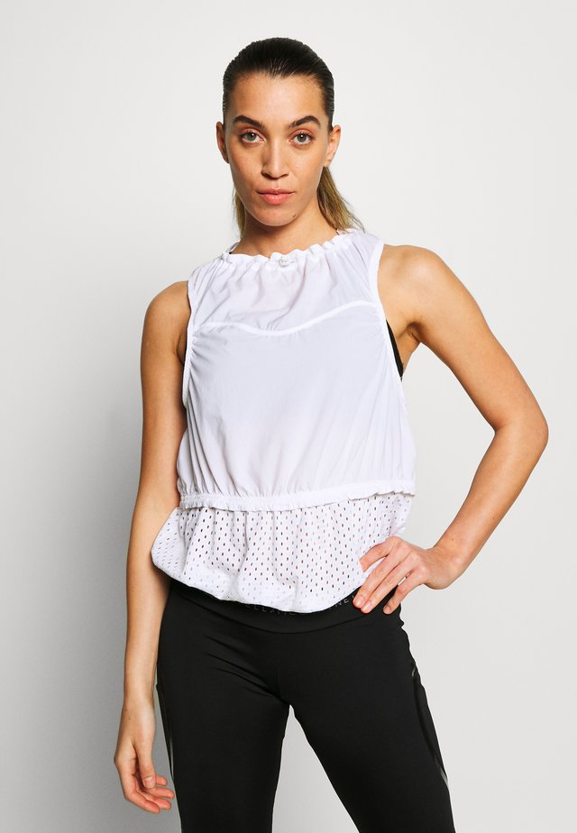 TANK - Funkční triko - white