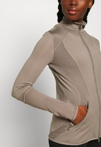 adidas by Stella McCartney - MIDLAYER - Treningsjakke - brown - 4
