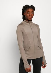 adidas by Stella McCartney - MIDLAYER - Treningsjakke - brown - 0