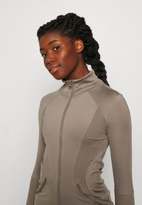 adidas by Stella McCartney - MIDLAYER - Treningsjakke - brown - 3