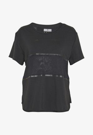 LOOSE TEE - T-shirts med print - black