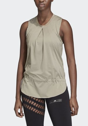 TRAINING SOFT TANK TOP - Linne - grey