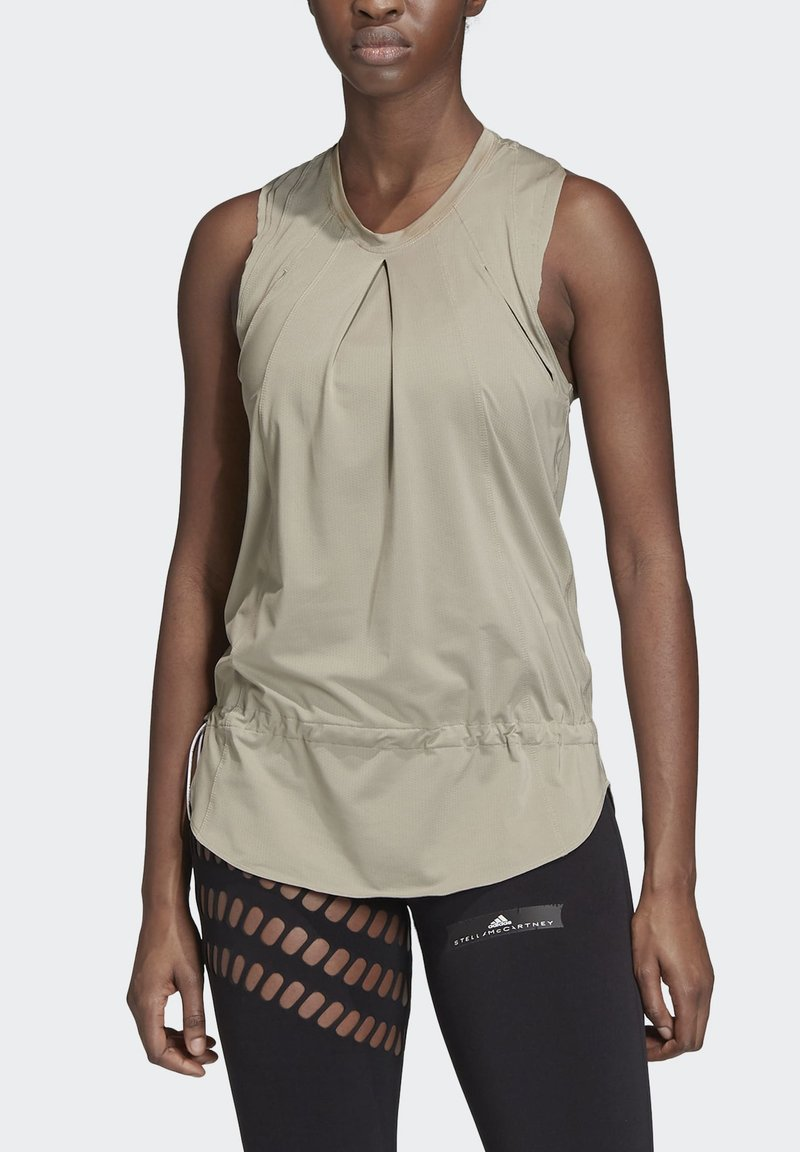 adidas by Stella McCartney - TRAINING SOFT TANK TOP - Top - grey