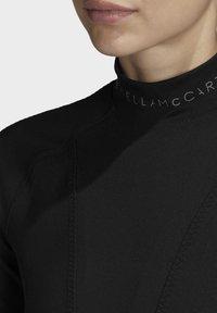 adidas by Stella McCartney - HEAT.RDY FITTED T-SHIRT - Print T-shirt - black - 7