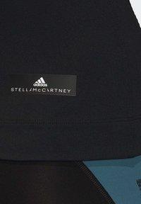 adidas by Stella McCartney - HEAT.RDY FITTED T-SHIRT - Print T-shirt - black - 5