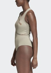 adidas by Stella McCartney - WARP KNIT TRAINING BODYSUIT - Funktionströja - grey - 3