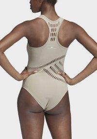 adidas by Stella McCartney - WARP KNIT TRAINING BODYSUIT - Funktionströja - grey - 2
