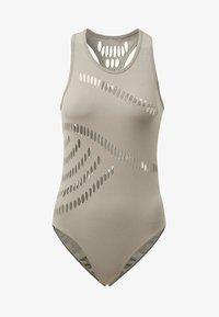 adidas by Stella McCartney - WARP KNIT TRAINING BODYSUIT - Funktionströja - grey - 7